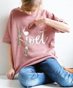 gepersonaliseerde sweater t-shirt